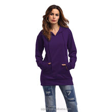 Mix Colour Cotton Pure Women Casual Medium Sweater With Hood