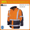 Hi vis man windproof reflective safety motorcycle jacket