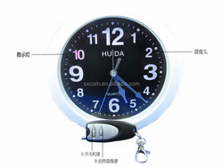 Wall Clock camera Home security system, mini pinhole usb camera PQ171