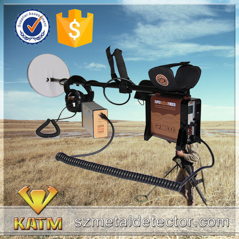 Trade Price! Gold Metal Detector Machine with LCD underground metal detector Waterproof