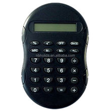 Hot selling handheld calculator, calculator with rubber grip accents/HLD-871