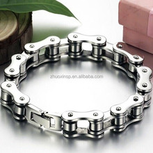 China hot sale Great Design chain biker bracelet,gelang rantai biker