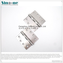 Fire rated Screw Mounted Silver Tone Stainless Steel Door Hinges