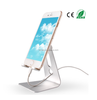 Customized logo color adjustable rotation mobile phone holder aluminum tablet stand no charger adjustable rotation phone holder