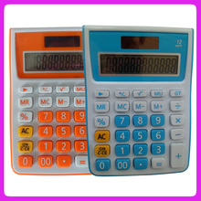 Japan hotsale 12-digit solar desktop table calculator