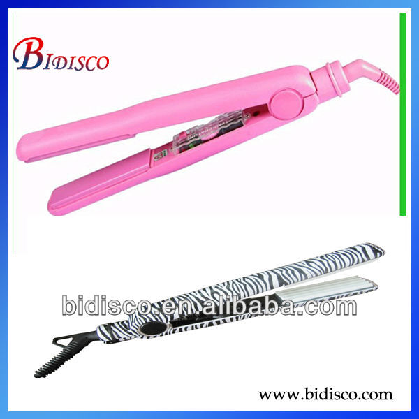 swivel power cord hair flat iron for salon use