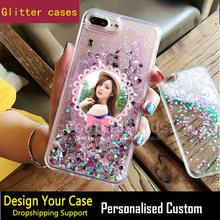 Colorful Moving Glitter Quicksand 3D Bling Phone Case Cover For Iphone 6 Shining Star Case