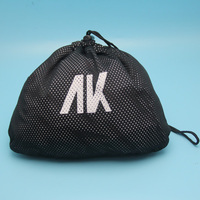 New Products Drawstring Polyester Mesh Bag For Shoes