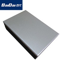 Baidai waterproof decorative wall panel fireproof exterior metal panel
