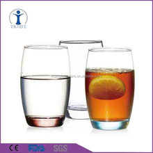 Oval Glass Juice Cup Yogurt Mousse Cup Office Home New Water glass