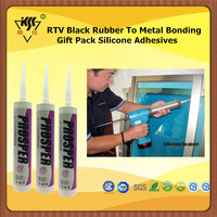 RTV Black Rubber To Metal Bonding Gift Pack Silicone Adhesives