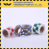 High Quality Cheap Reflective Tape Products Red Yellow Chevron High Intensity Reflective Tape