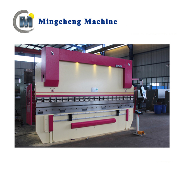 electrical cnc sheet metal bending machine hydraulic press brake/bender plate bending machine