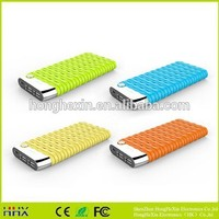 New arrival 2015 fashion 10000mah ultra slim powerbank made in China