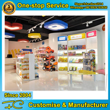 Hot new products for 2017 retail store MDF wood toys display rack
