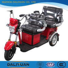 cargo two seats adult tricycle with cabin for sale