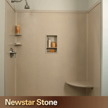 Chinese good quality polished quartz shower stone wall panel