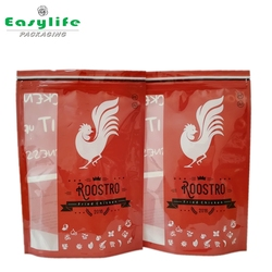 Hot sales stand up pouch frozen fried chicken plastic ziplock bag