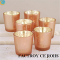 Exported to Australia Best of Mercury Glass Candle Holders rose gold colors