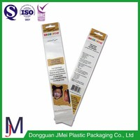 plastic pen packaging opp cpp header bag