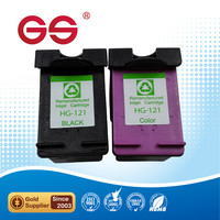 Wholesale printer ink for HP 121 ink cartridge