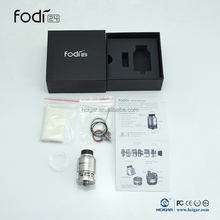 100% Genuine Hcigar FodI 24 RDTA Tank white dragon e-cigarette