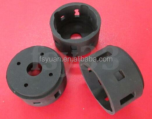 custom made high quality rubber bushing / rubber coated metal bushing / sleeve bearing