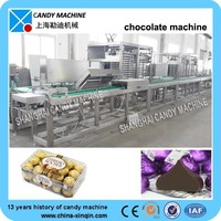 Chocolate processing machine