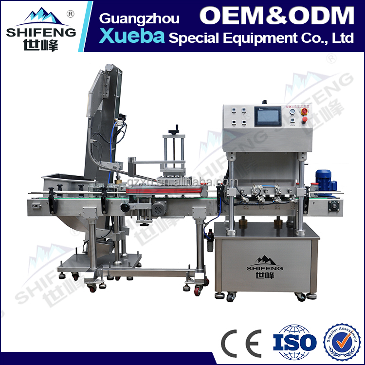 SFZK-4 Automatic capping machine sealing capping machine prices