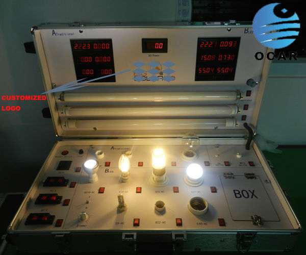 Shenzhen Factory Cutomized Led Light Demo Case For Exhibition And Travel