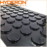 HYDERON bumper feet, rubber floor protector, silicone dots, clear adhesive pads