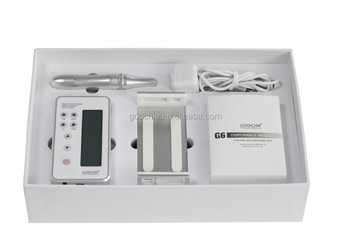 Goochie newest digital permanent makeup machine with music system