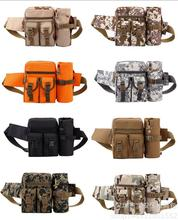 Sport Fanny Pack Detachable Water Bottle Holder Outdoor Travel Military Equipment Belt Pouch Tactical Waist Bag