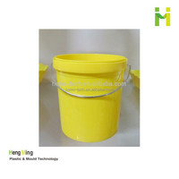 1.2L food grade colorful plastic small pail
