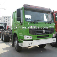 howo truck 6*4 volvo cabin 371HP tractor head-----WD615 engine