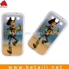 Circus uncle plastic cellphone case for samsung S3 i9300