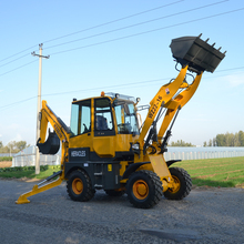 Shandong Heracles WZ22-16 mini backhoe loader for sale