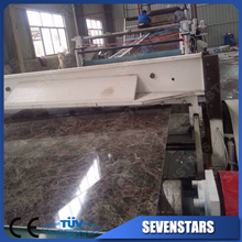 marble imitation floor/ pvc marble plastic sheet extrusion