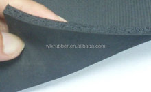 Custom adhesive backed rubber sheet/ rubber foam sheet material