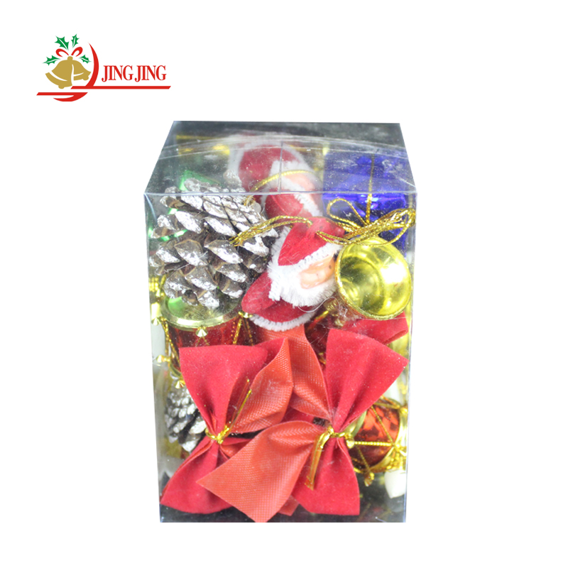 OEM Manufacturer Sale Mixed Christmas Gift Box Decor, Mixed Hanging Christmas Tree Decoration