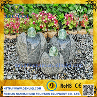 Custom Outdoor Small Back Yard Crystal Stone Dancing Water Fountains Water Feature