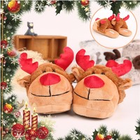 Good Quality Sell Well Cozy Plush Animal House Shoes