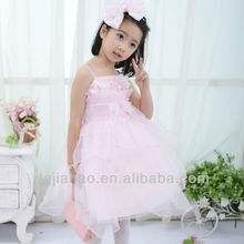 2013 New arrival kids strapless dresses