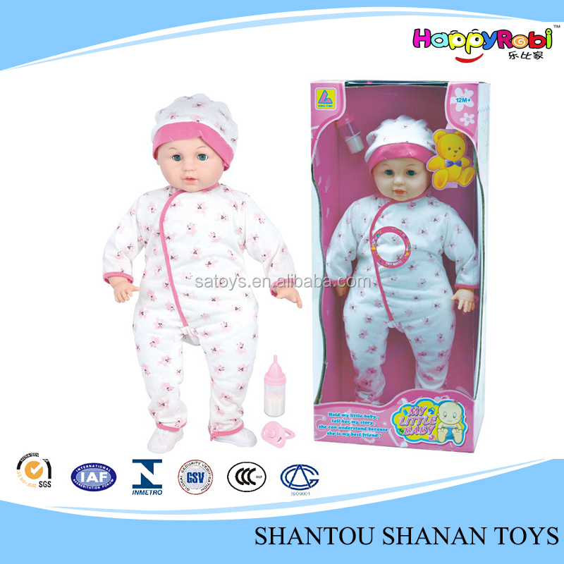 Hot saling plastic funny toy cheap dolls for sale