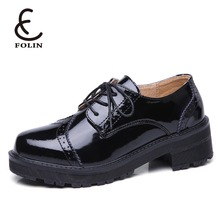 genuine leather casual woman shoes new style women wedge oxford shoes ladies latest model shoes