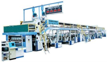 5-layer corrugated paperboard production line