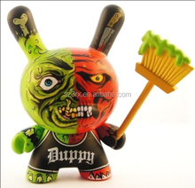 Custom dunny art vinyl toy/custom made collectible kidrobots vinyl toy OEM manufacturer