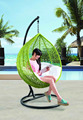 Cheap Wholesale Outdoor Basket Wicker Hanging Egg Chair From China(Y9104)