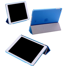 smart ultra slim magnetic cover three fold can support for ipad air case