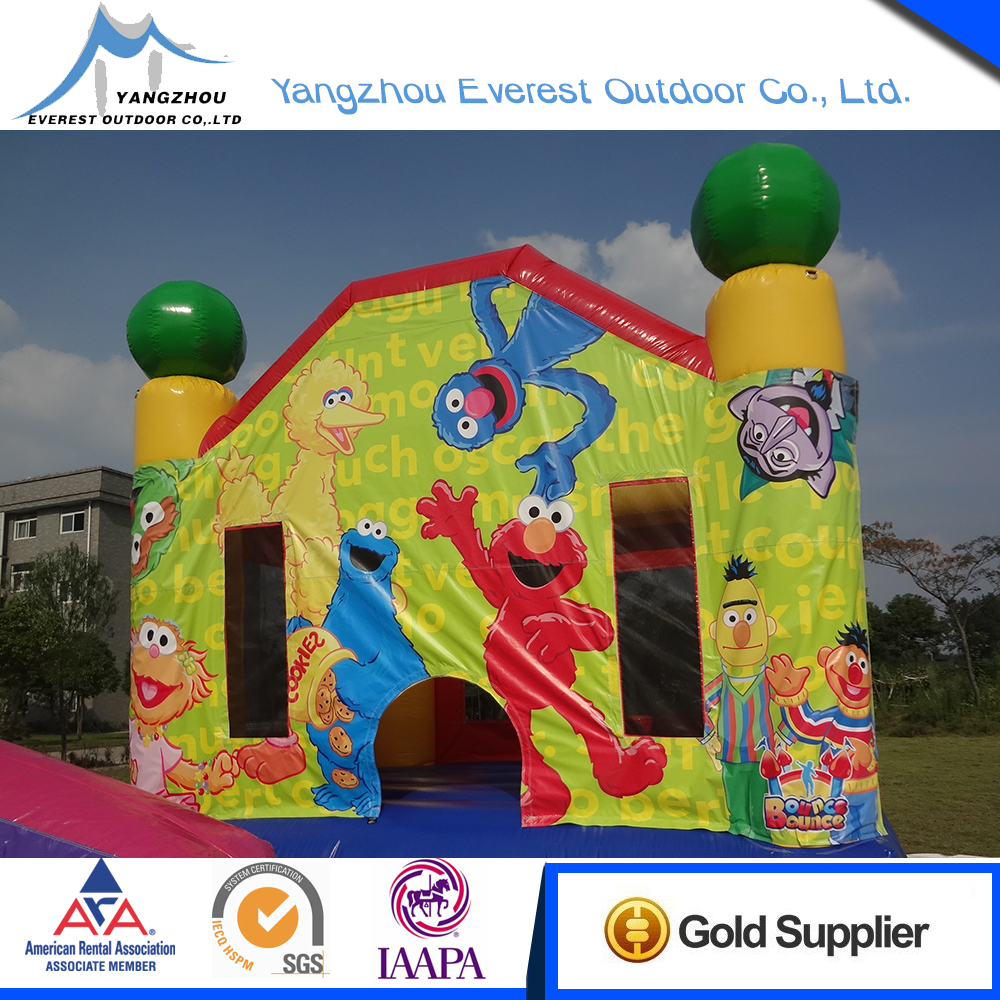 Quality Assurance 4.4x4.1x3.9m inflatable jump bouncer castle